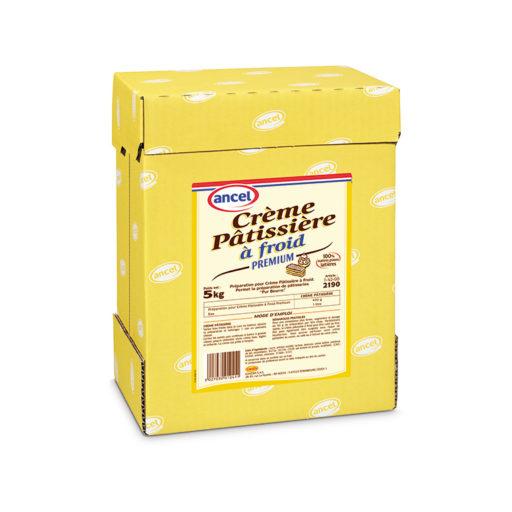 Crème pâtissière à froid premium ancel - Condifa