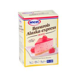 Bavarois alaska express fraise ancel - Condifa