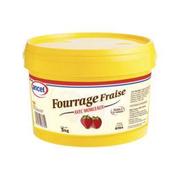 Fourrage fraise avec morceaux ancel - Condifa