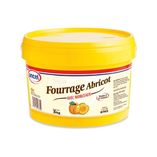 Fourrage abricot avec morceaux ancel - Condifa