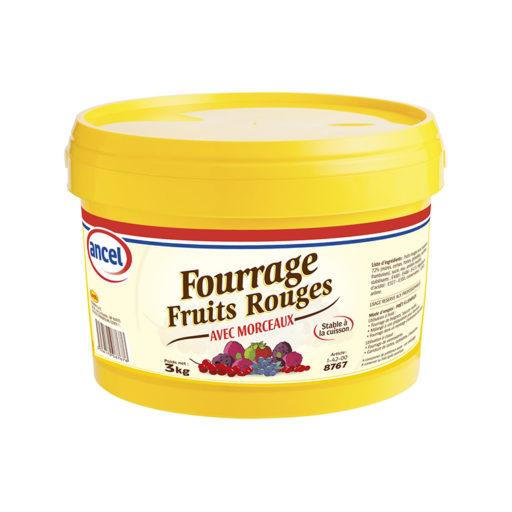 Fourrage fruits rouges avec morceaux ancel - Condifa