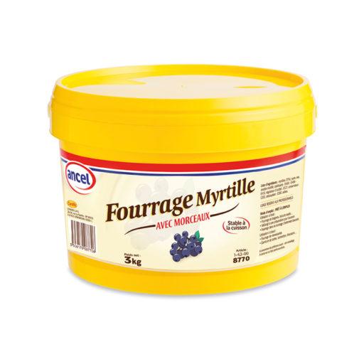 Fourrage myrtille avec morceaux ancel - Condifa