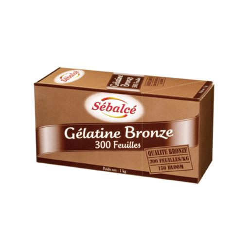 Gélatine bronze 300 feuilles Sébalcé - Condifa
