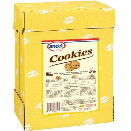 Preparation pour cookies ancel
