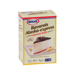 Bavarois alaska express chocolat blanc ancel - Condifa
