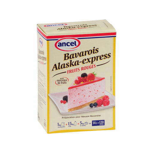 Bavarois alaska express fruits rouges ancel - Condifa