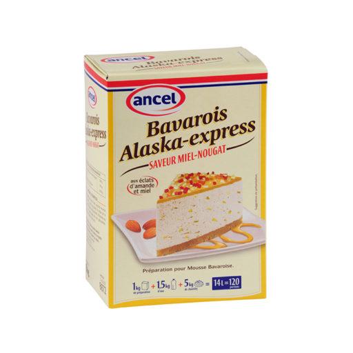 Bavarois alaska express saveur miel nougat ancel - Condifa
