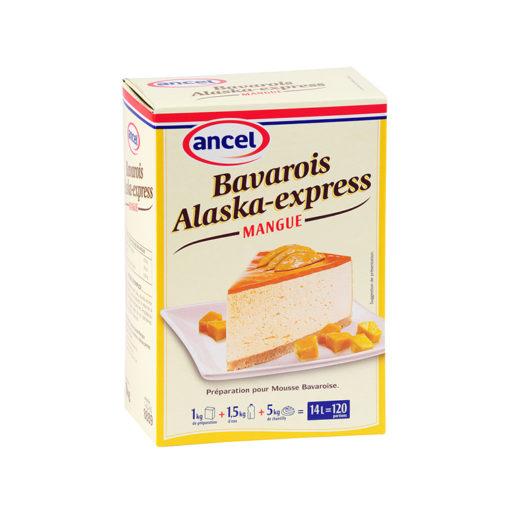 Bavarois alaska express mangue ancel - Condifa