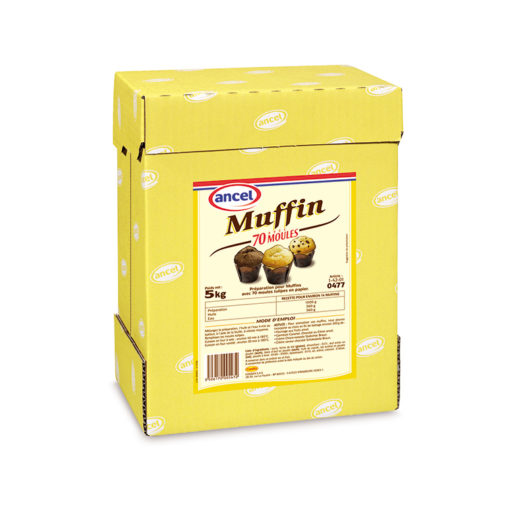 Préparation muffin 70 moules ancel - Condifa