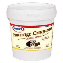 Fourrage croquant chocolat blanc ancel - Condifa