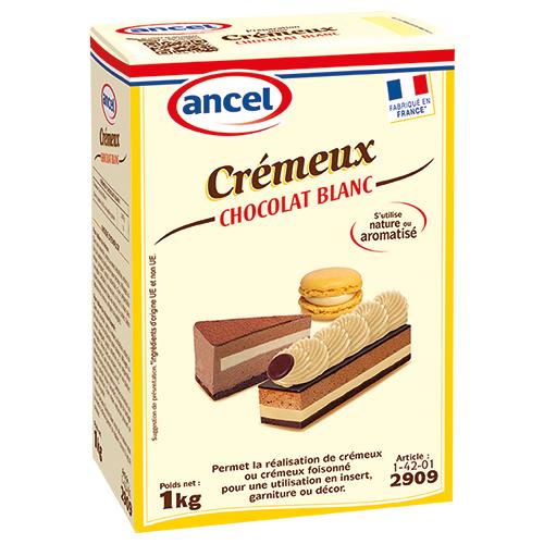 Crémeux Chocolat Blanc ancel