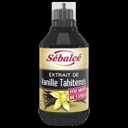 Extrait de Vanille Tahitensis avec Grains Sébalcé