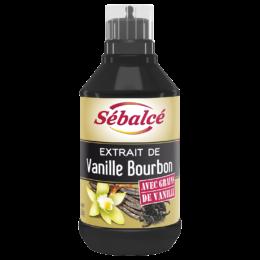 Extrait de Vanille Bourbon avec grains Sébalcé