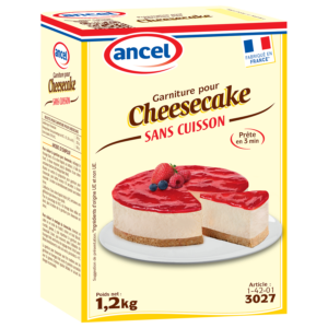Garniture pour Cheesecake ancel