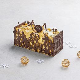 Bûche Duo Suprême Chocolat Vanille