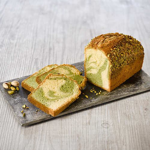 Cake Muffin Marbré Pistache