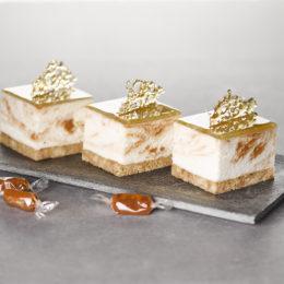 Cheesecake marbré Caramel-Spéculoos