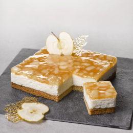 Cheesecake Pomme façon Tatin