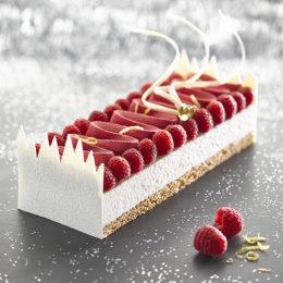 Bûche Cheesecake Yuzu & Framboise