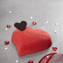 Entremets Cœur Saint Valentin