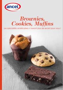 Brownies, Cookies, Muffins.