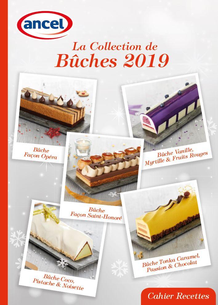 Collection de bûches de Noël 2019 ancel - Sébalcé - cresco - Condifa