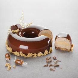 Entremets Sablé Chocolat
