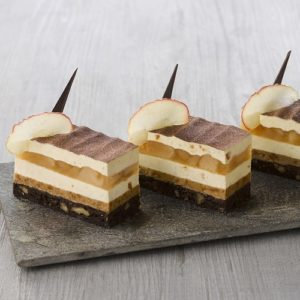Entremet Pomme tatin Speculoos - ancel - Condifa