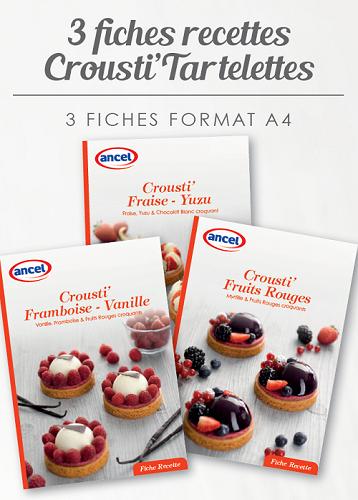 Fiches recettes Crousti Tartelettes