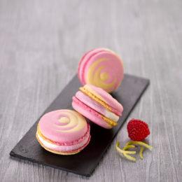 Macarons Citron-Framboise