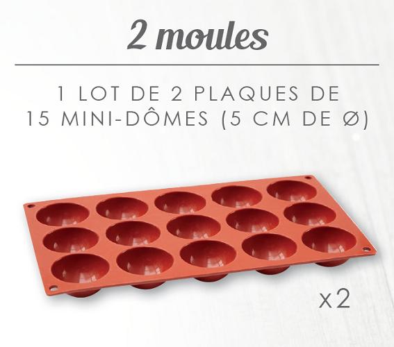 Moules Mini Domes