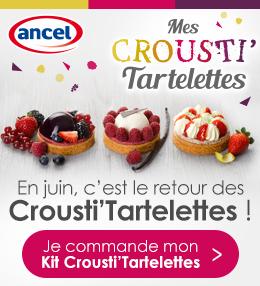 Opération Crousti' Tartelettes ancel - Condifa