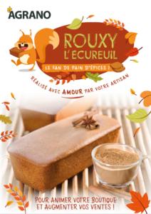 Rouxy l'écureuil Pain d'épices