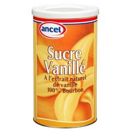 Sucre vanille à l'extrait naturel de vanille 100% Bourbon ancel - Condifa