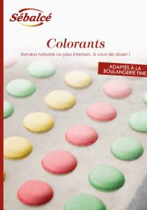 Argumentaire colorants cresco - Condifa