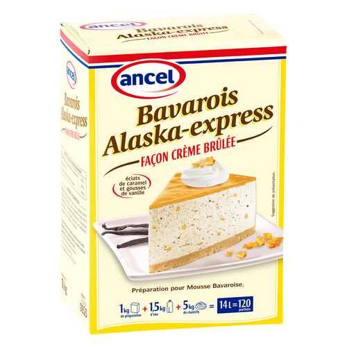Bavarois alaska express façon crème brûlée ancel - Condifa