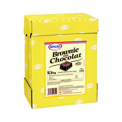 Brownie tout chocolat ancel - Condifa