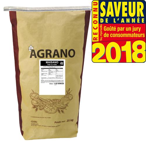 Farine maïsano 50% pain au mais et aux graines de tournseol Agrano - Condifa