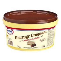 Fourrage croquant caramel au sel de Guérande ancel - Condifa