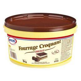 Fourrage croquant chocolat ancel - Condifa