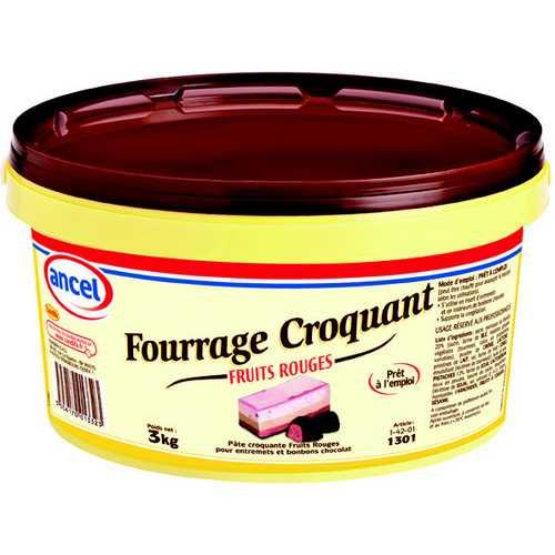 Fourrage croquant fruits rouges ancel - Condifa