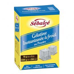 Gélatine instantanée à froid en poudre Sébalcé - Condifa
