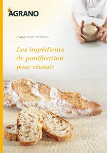 Les ingrédients de panification pour réussir Agrano - Condifa