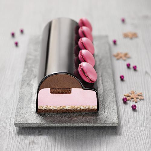 Recette de la Bûche Framboise & Chocolat