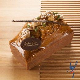 Recette cake vanille Tahitensis fruits secs par Stéphane Glacier - Condifa