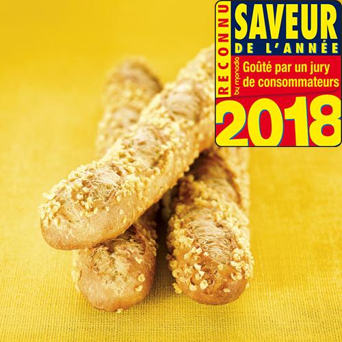 Recette de baguette mais graines tournesol à base farine élaborée mexicain maisano saveur année 2018 Agrano - Condifa