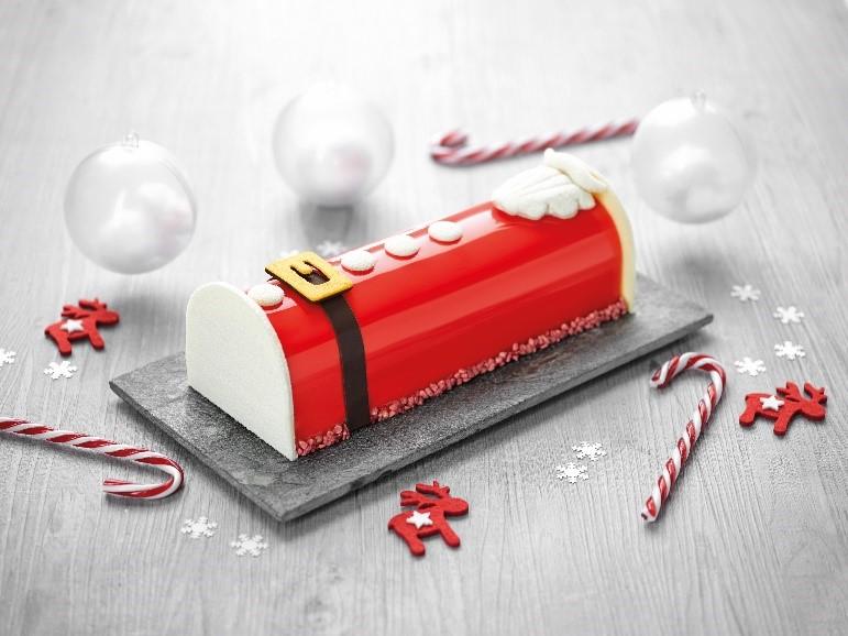 Recette de la bûche Père Noël ancel - Condifa