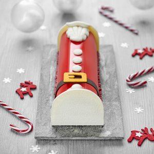 Recette de bûche Père Noël ancel - Condifa