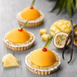 Recette de crousti' tartelettes fruits exotiques ancel - Condifa