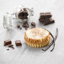 Recette de crousti' tartelettes vanille chocolat ancel - Condifa